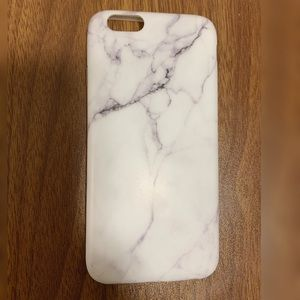 iPhone 6 Marble Silicone Case